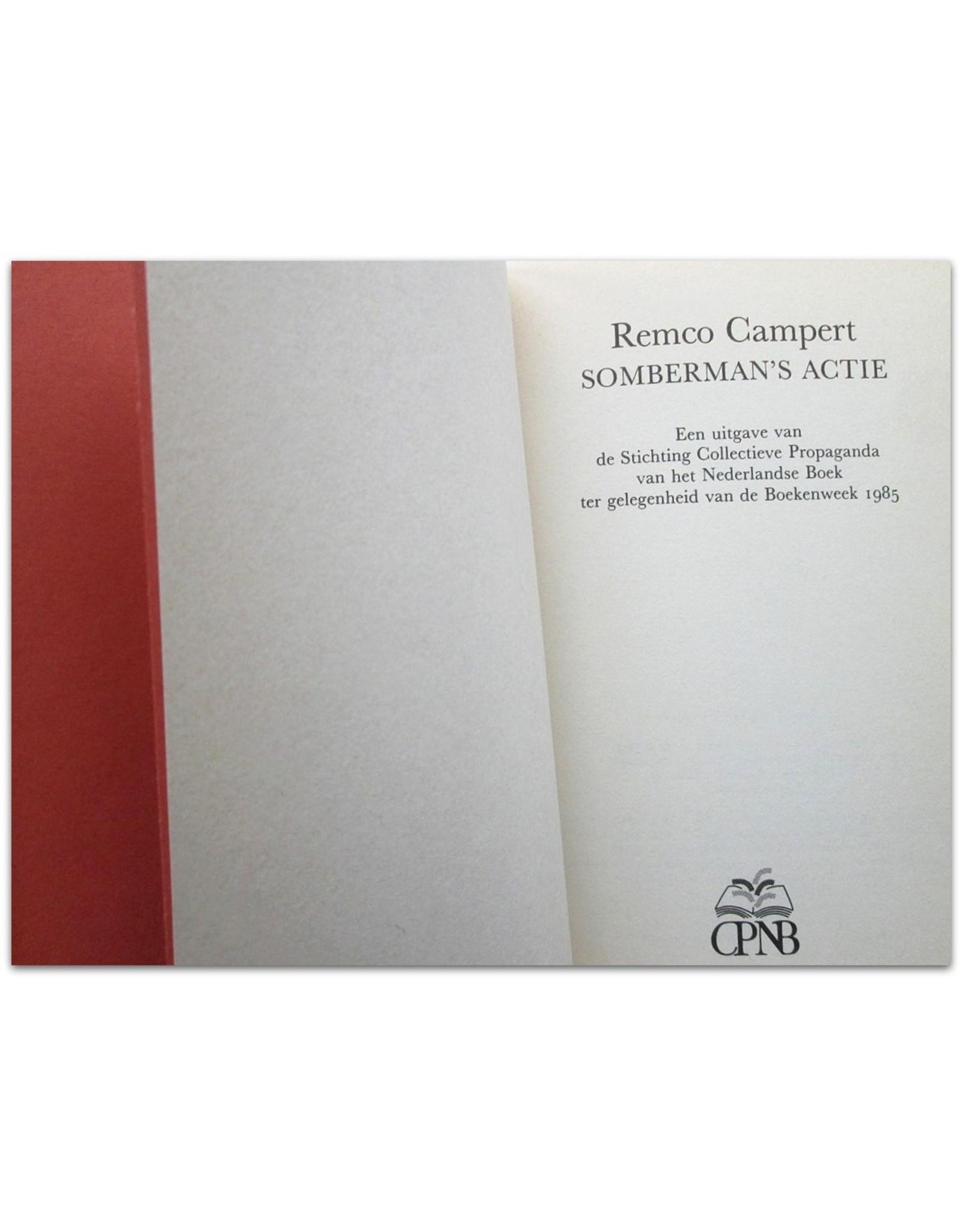 Remco Campert - Somberman's Actie - [Deluxe hardcover edition]