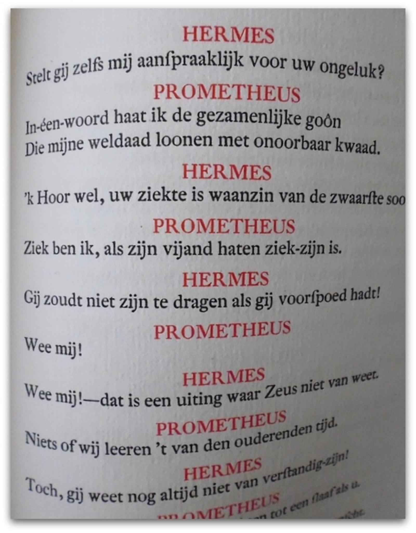 P.C. Boutens - Prometheus geboeid. Uit het Grieksch van Aischylos in Nederlandsche verzen overgebracht