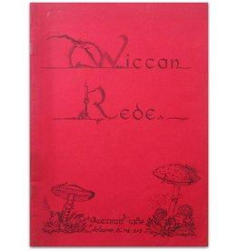 Lot met 4 Wiccan Rede magazines - 1985/1986