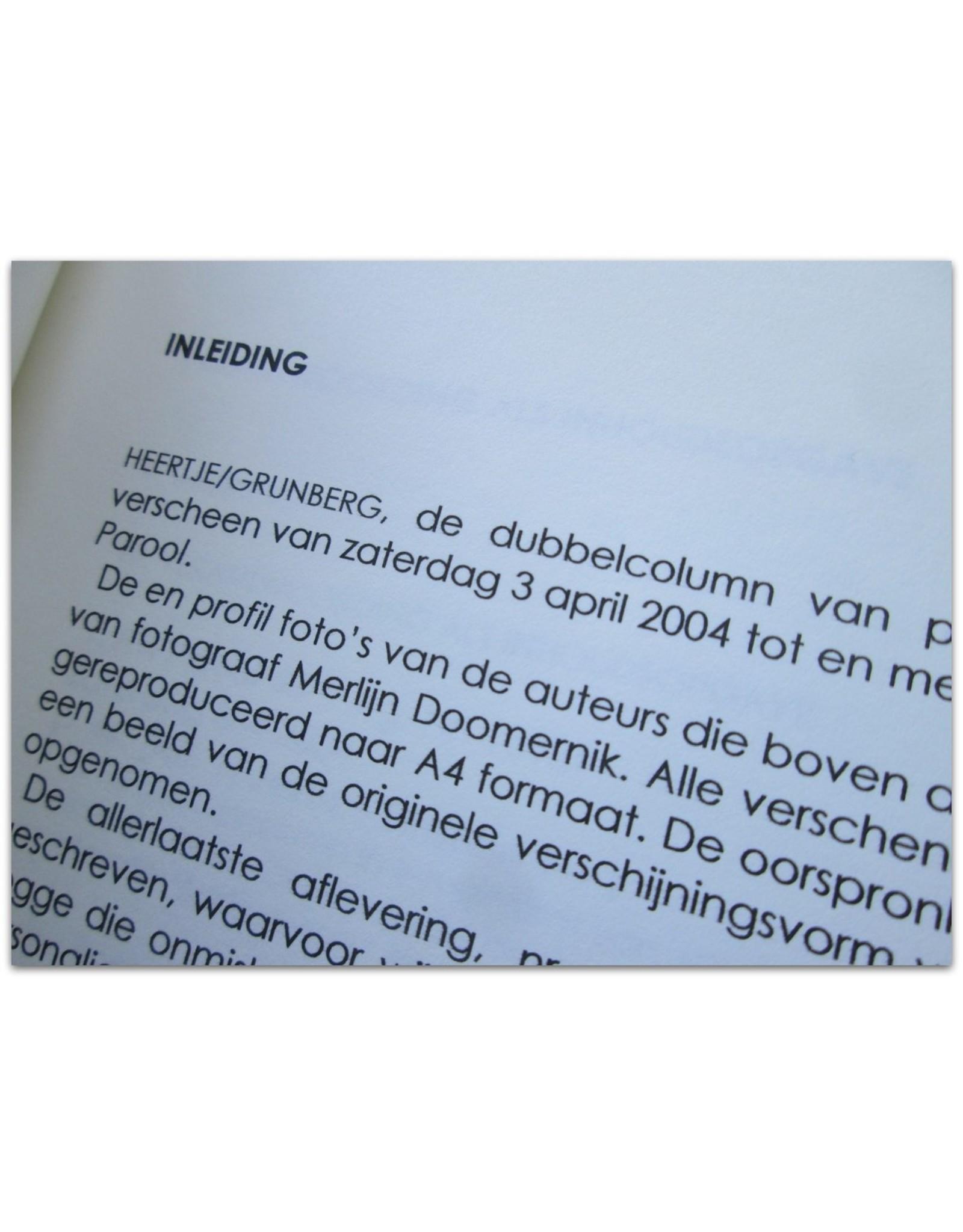 Arnon Grunberg - Heertje/Grunberg: Columns 3 april 2004 - 16 juli 2006