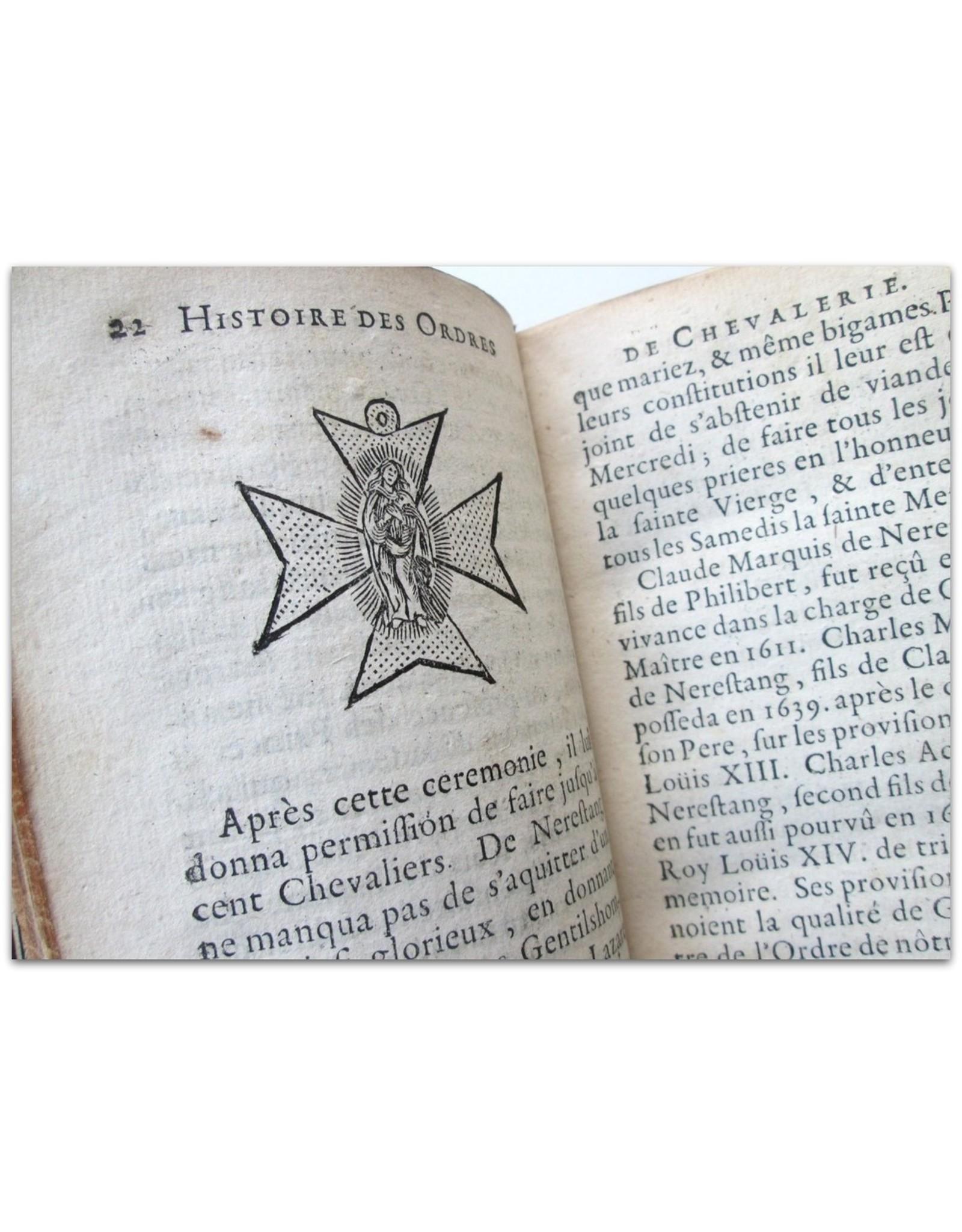 Monsieur Hermant - Histoire des religions ou ordres militaires de L'Eglise et des ordres de chevalerie. Dediée au Roy. [Complete set]