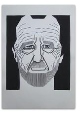 A.L. Snijders - Origineel auteursportret door Bert Osnabrug