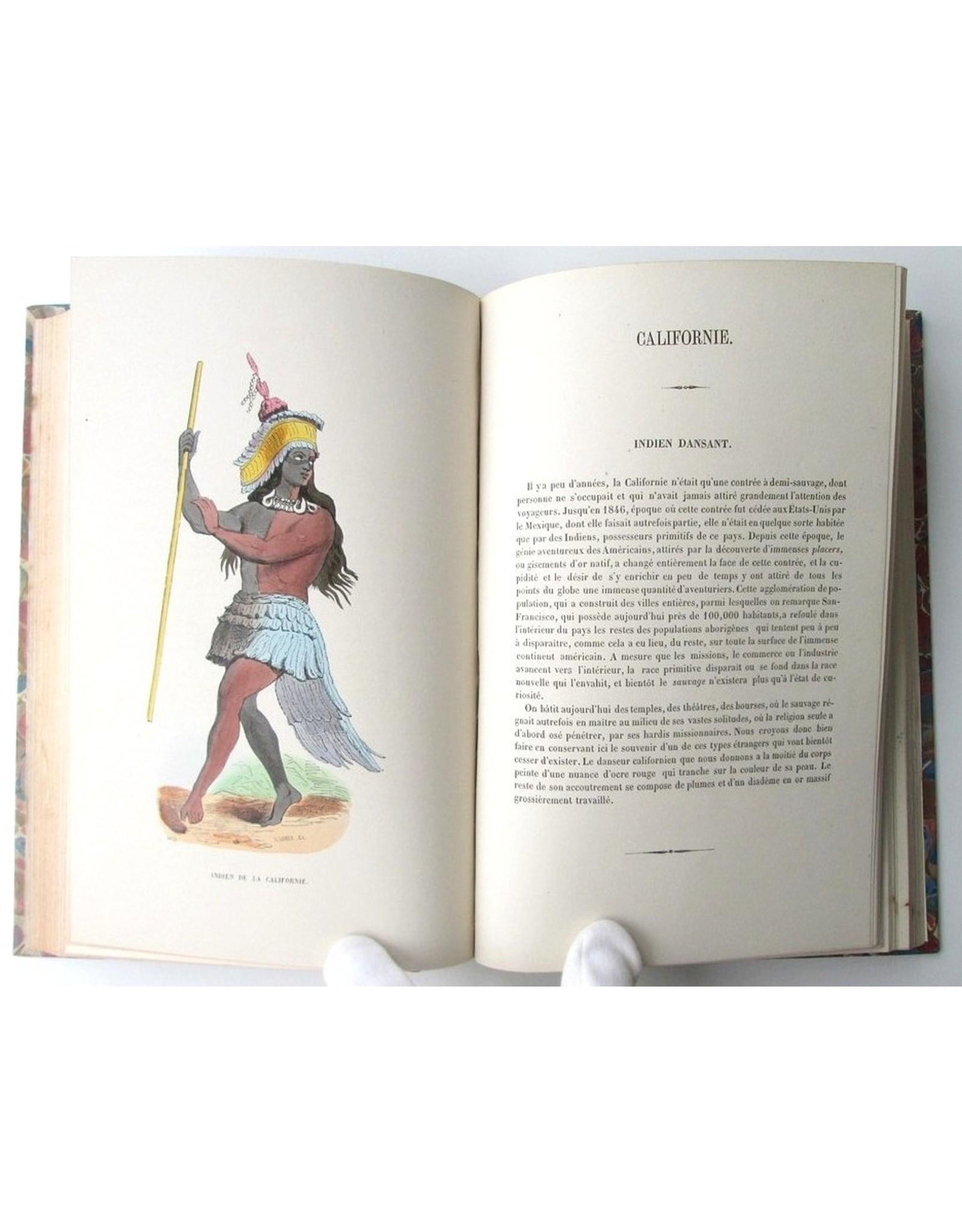 [Fashion] Ad. Wahlen-Fierlants - Le Costume Ancien et Moderne. Moeurs, [...] de tous les Peuples du Monde, [...]