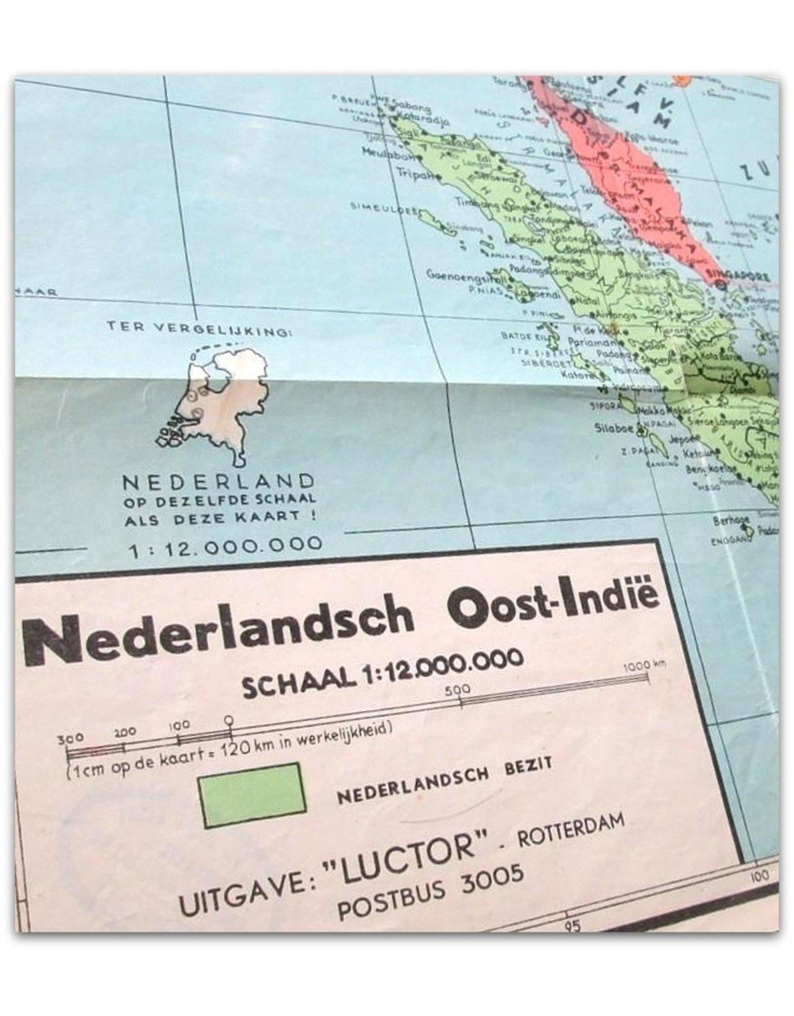 Zakkaart Nederlandsch Oost-Indië