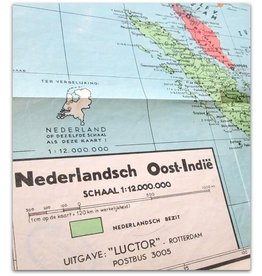 Zakkaart Nederlandsch Oost-Indië - c. 1943