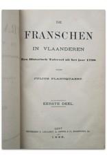 Julius Plancquaert - De Franschen in Vlaanderen [Complete set] - Een Historisch Tafereel uit het jaar 1798. Eerste [en] Tweede Deel