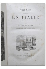 Paul de Musset - Voyage pittoresque en Italie. Partie septentrionale. Illustrations de MM. Rouargue Frères