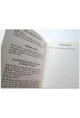 Jack P. Veenstra & Herman Kluit - Het Oranje Boekje voor Gebruikers. [Officieel shitboekje]
