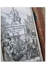 Miguel de Cervantes Saavedra - Den Verstandigen Vroomen ridder Don Quichot de La Mancha - [...]