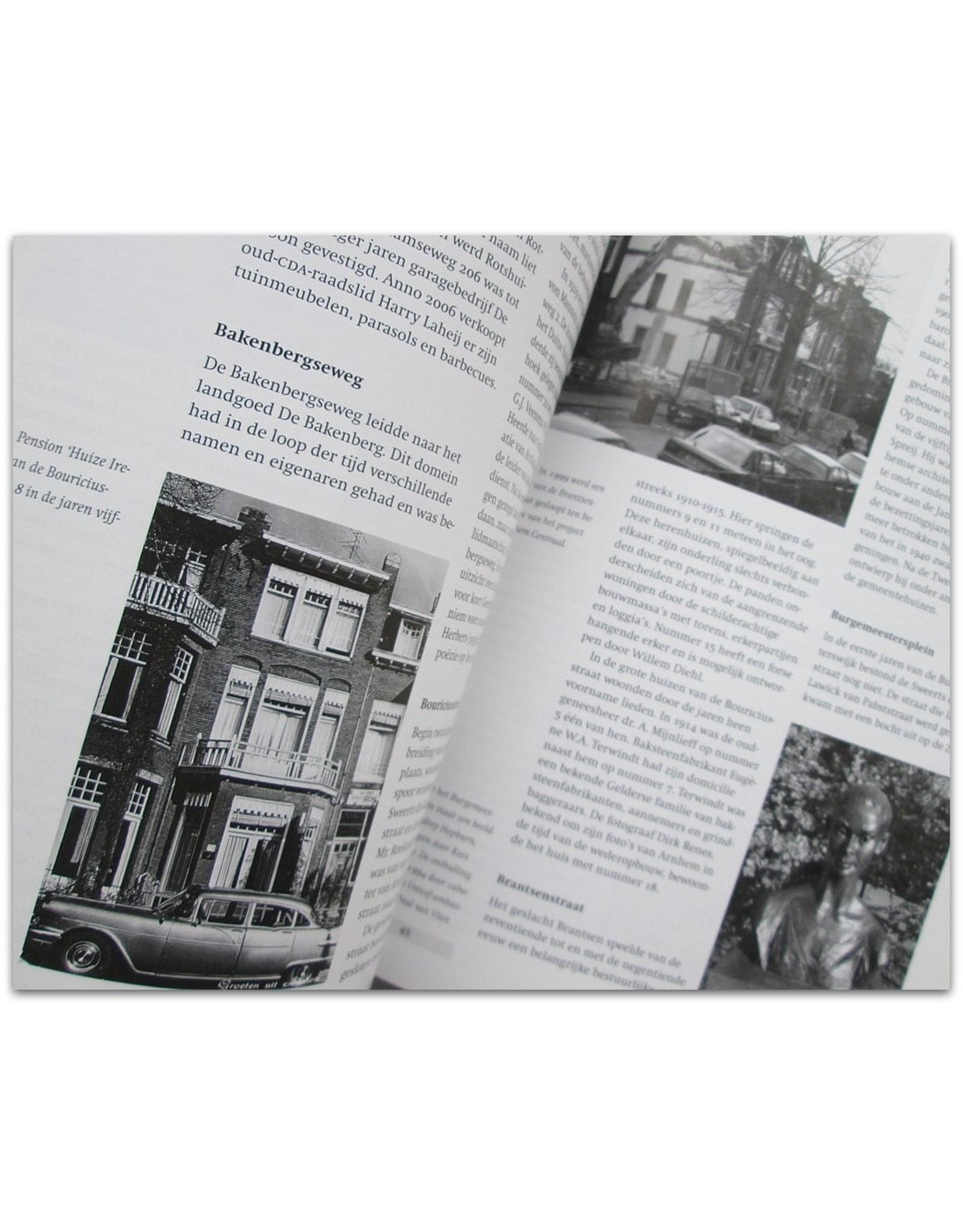 C.F.A. Crone & J. Vredenberg - De Burgemeesterswijk. Wonen op stand bij Park Sonsbeek in Arnhem