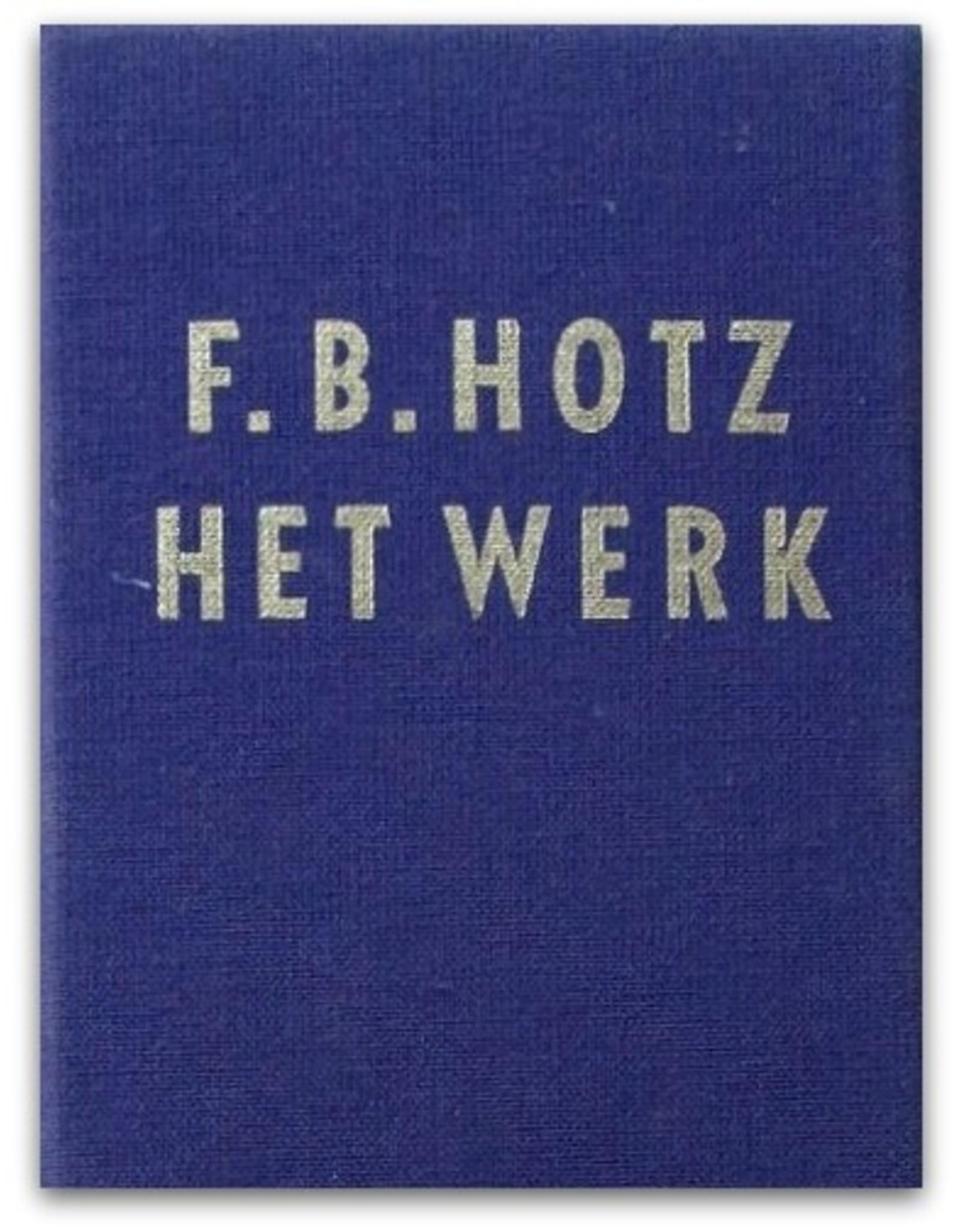 F.B. Hotz - Het werk