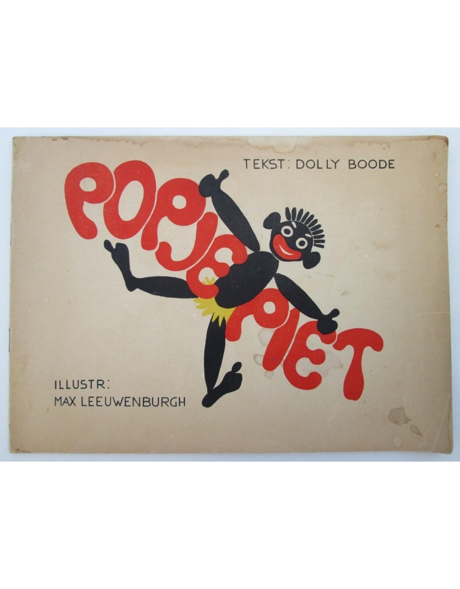 [Sinterklaas] Dolly Boode - Popje Piet. Teekeningen Max Leeuwenburgh