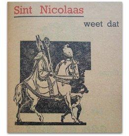 [Sinterklaas] Contrôle-Boekje No. - 1930