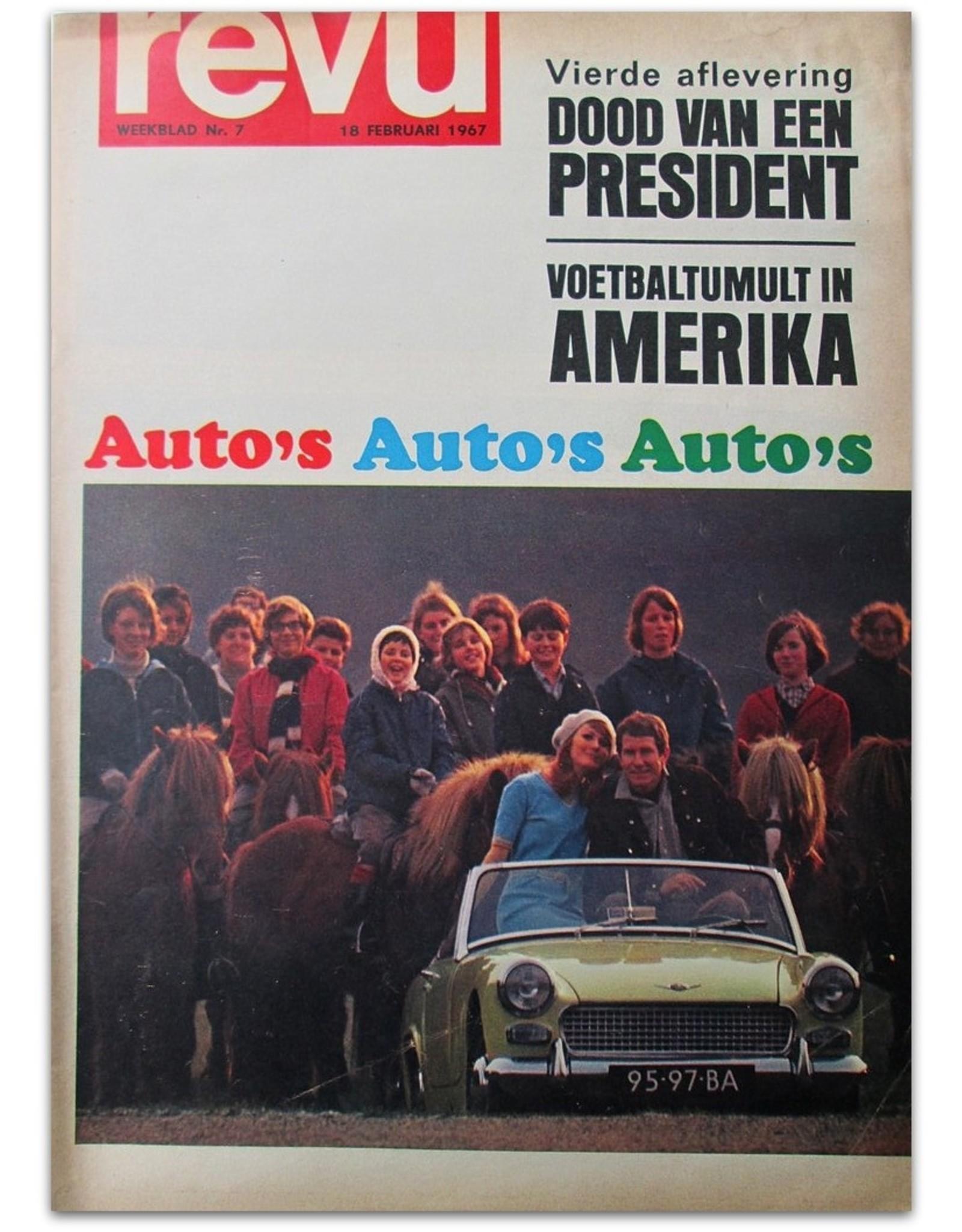 Ed van der Elsken - Auto's Auto's Auto's [reportage in: Revu. Weekblad Nr. 7 - Februari 1967]