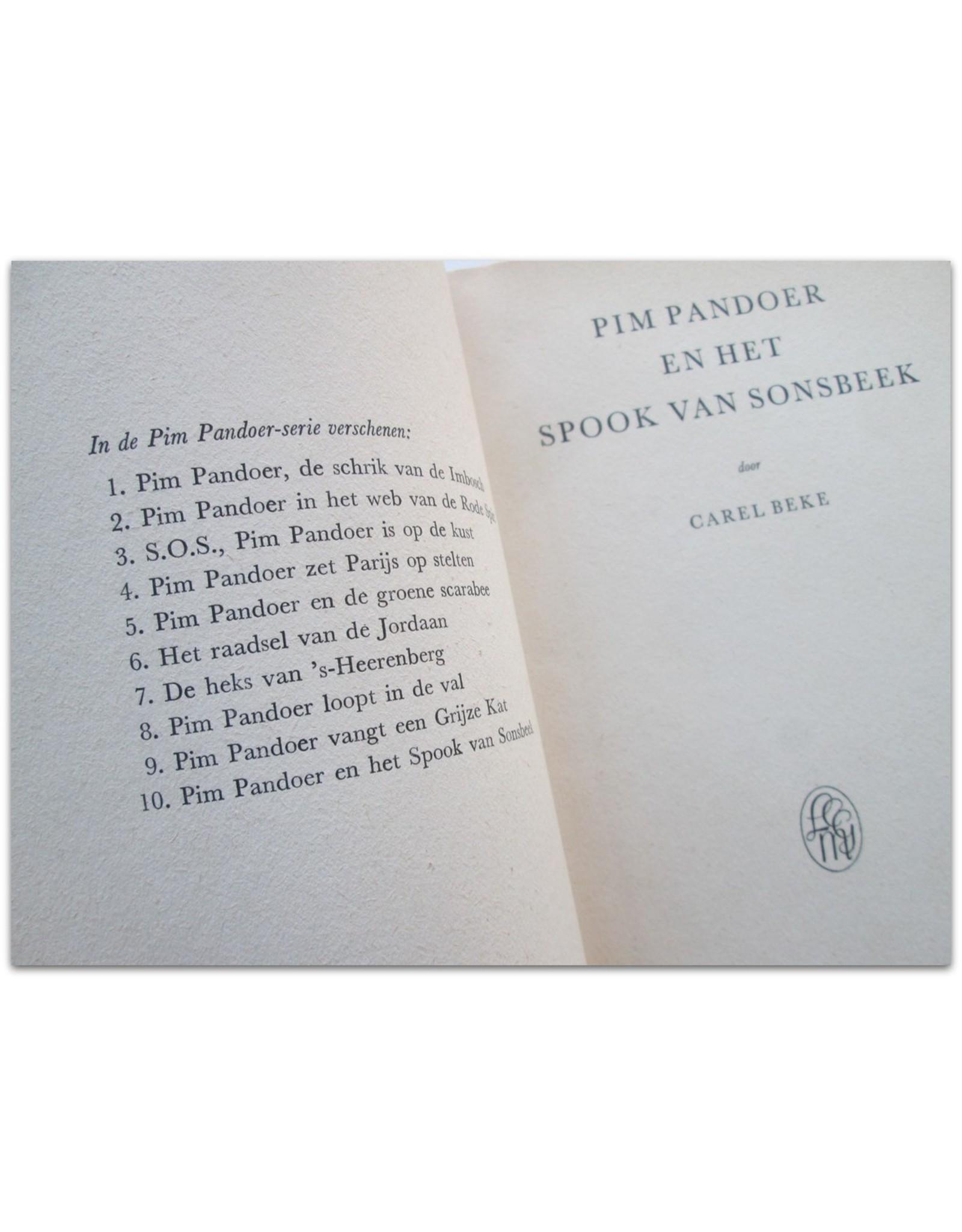Carel Beke - Pim Pandoer en het spook van Sonsbeek