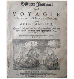 Historis Journael van Joris van Spilbergen - 1652