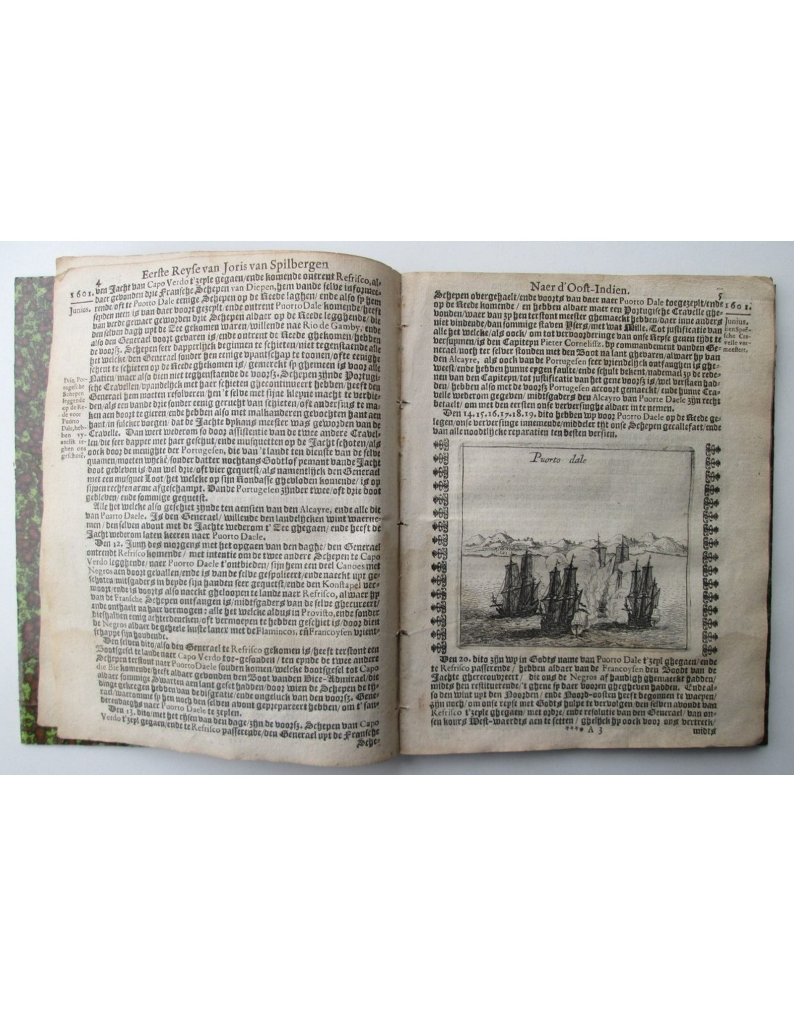 Historis Journael van de Voyagie Gedaen met 3 Schepen uyt Zeelandt naer d'Oost-Indien, Onder 't beleydt van Commandeur Joris van Spilberghen, sijn eerste reyse, inde Jaren 1601, 1602, 1603, 1604 [...] Beschrijvinge van het Eylandt JAVA