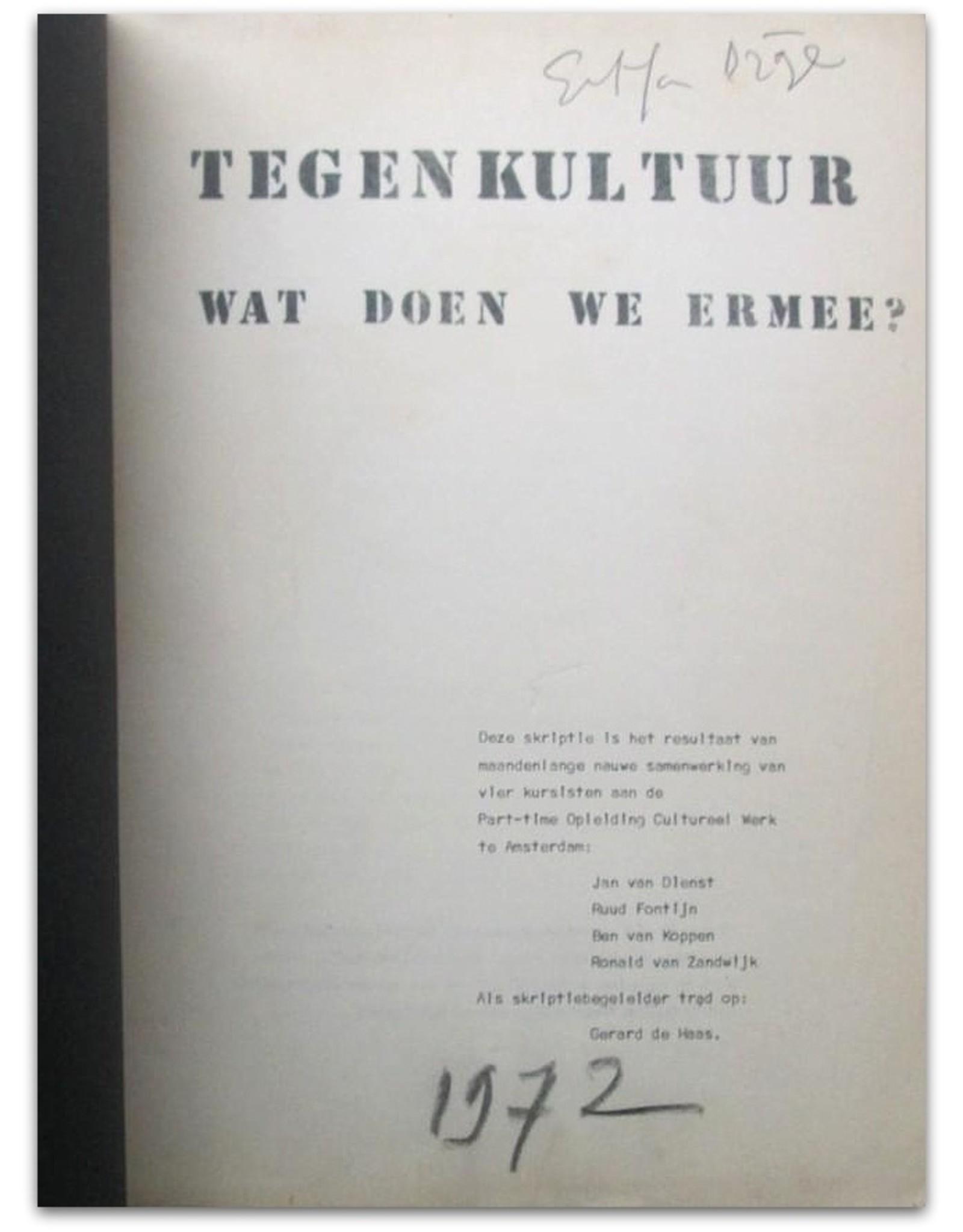 Simon Vinkenoog - Tegenkultuur. Wat doen we ermee?