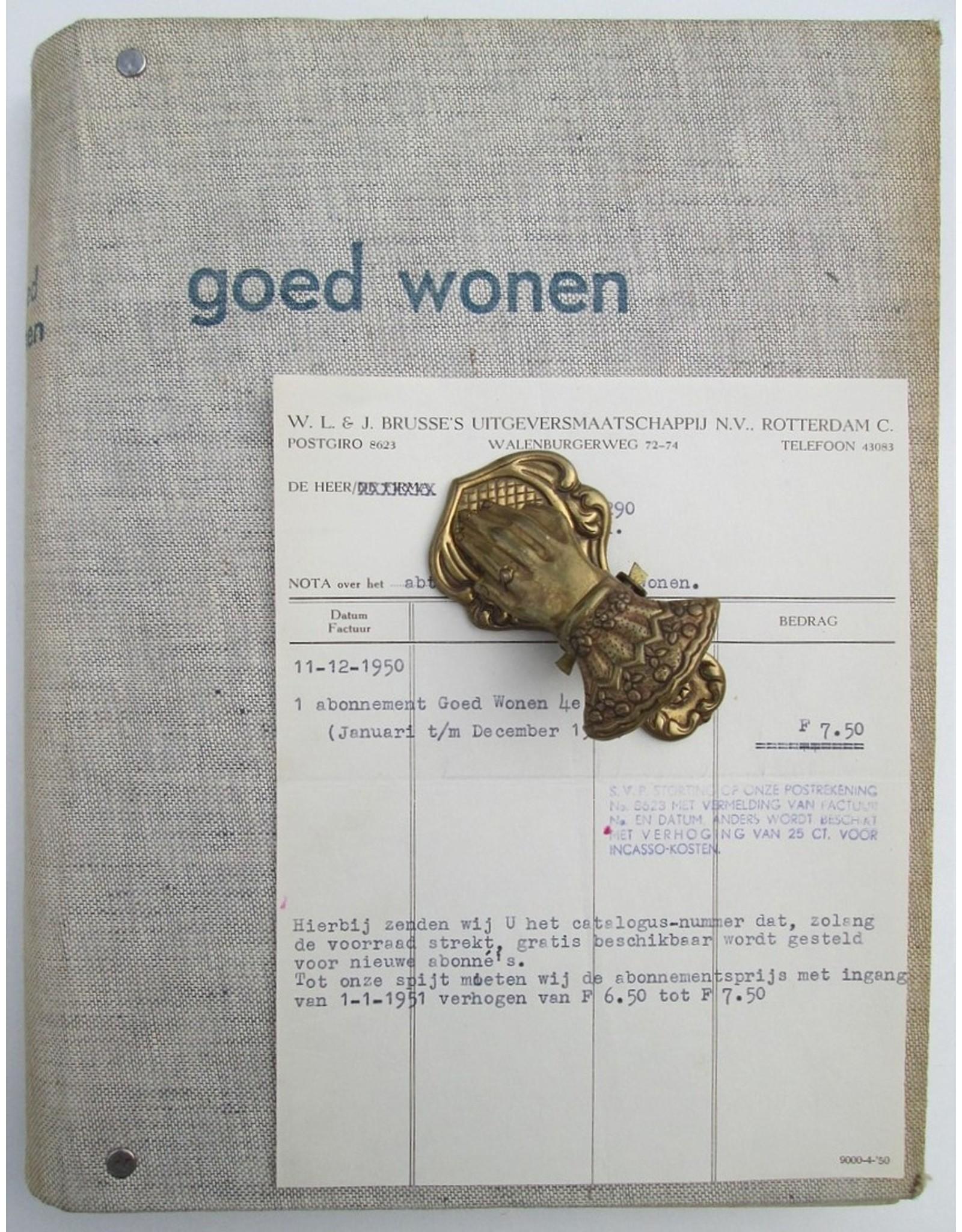 [Goed Wonen] - Vierde jaargang 1951