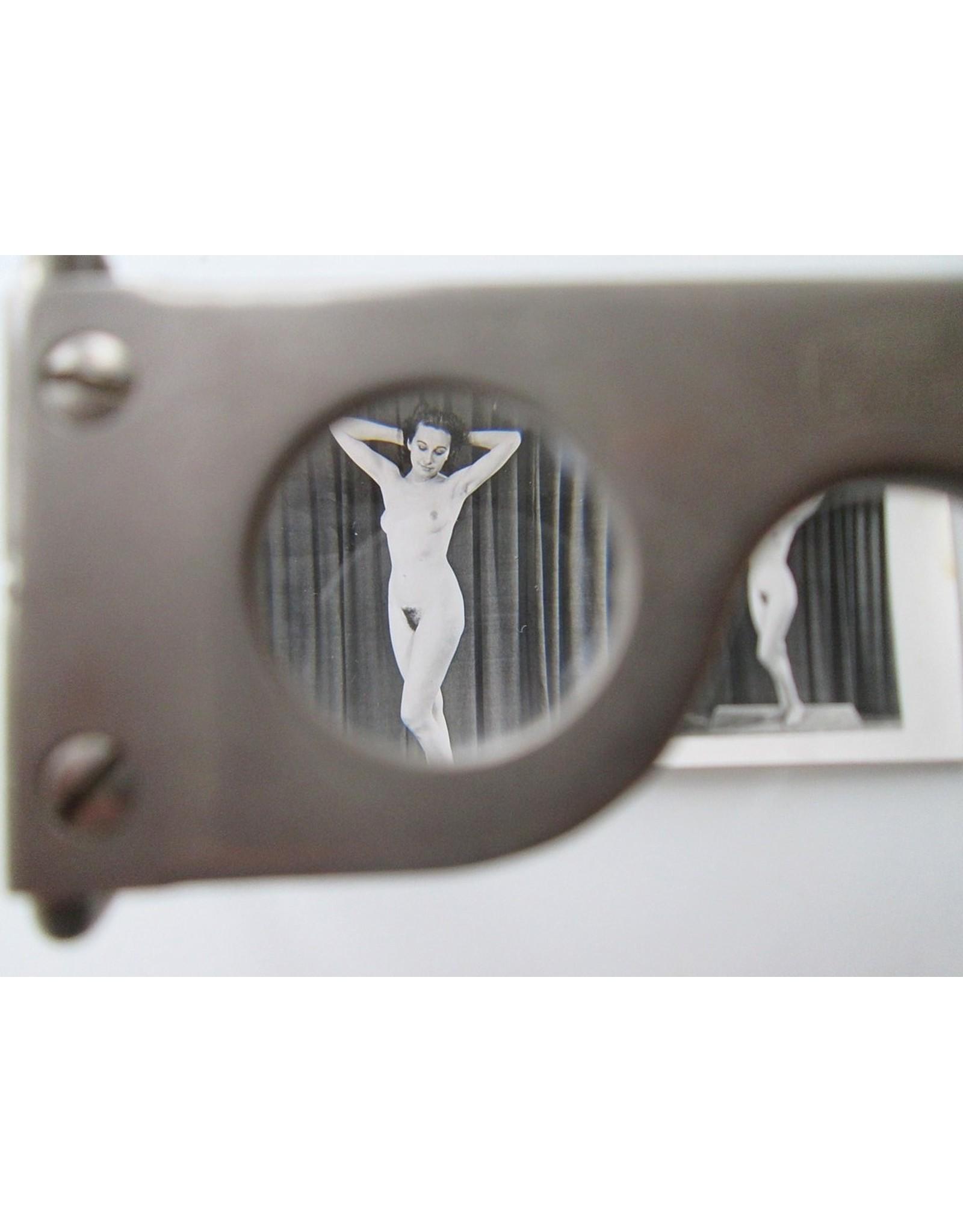 [Fotografica] [Zeiss-Aerotograph + 11 erotische stereofoto's uit] Martins Kunstmappen Serie 1