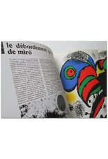 Alain Jouffroy - XXe siècle Numéro 47 Décembre 1976. Une lithographie originale de Joan Miró