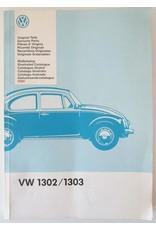 [Volkswagen] - VW 1302 / 1303 Bildkatalog Original Teile 1990: Illustrated Catalogue [for] Genuine Parts