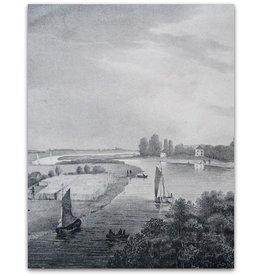 Omstreken van Arnhem: Gezigt Rehberg - ca 1835