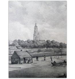 Omstreken van Arnhem: Loop des Rhyns - ca 1835