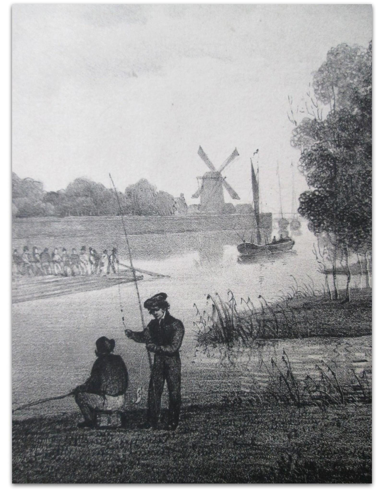 Omstreken van Arnhem:  Loop des Rhyns / Cours du Rhin