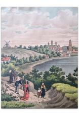Samuel Lankhout - Gezicht op Arnhem / Vue d'Arnhem