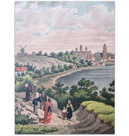 Samuel Lankhout - Gezicht op Arnhem - ca 1880