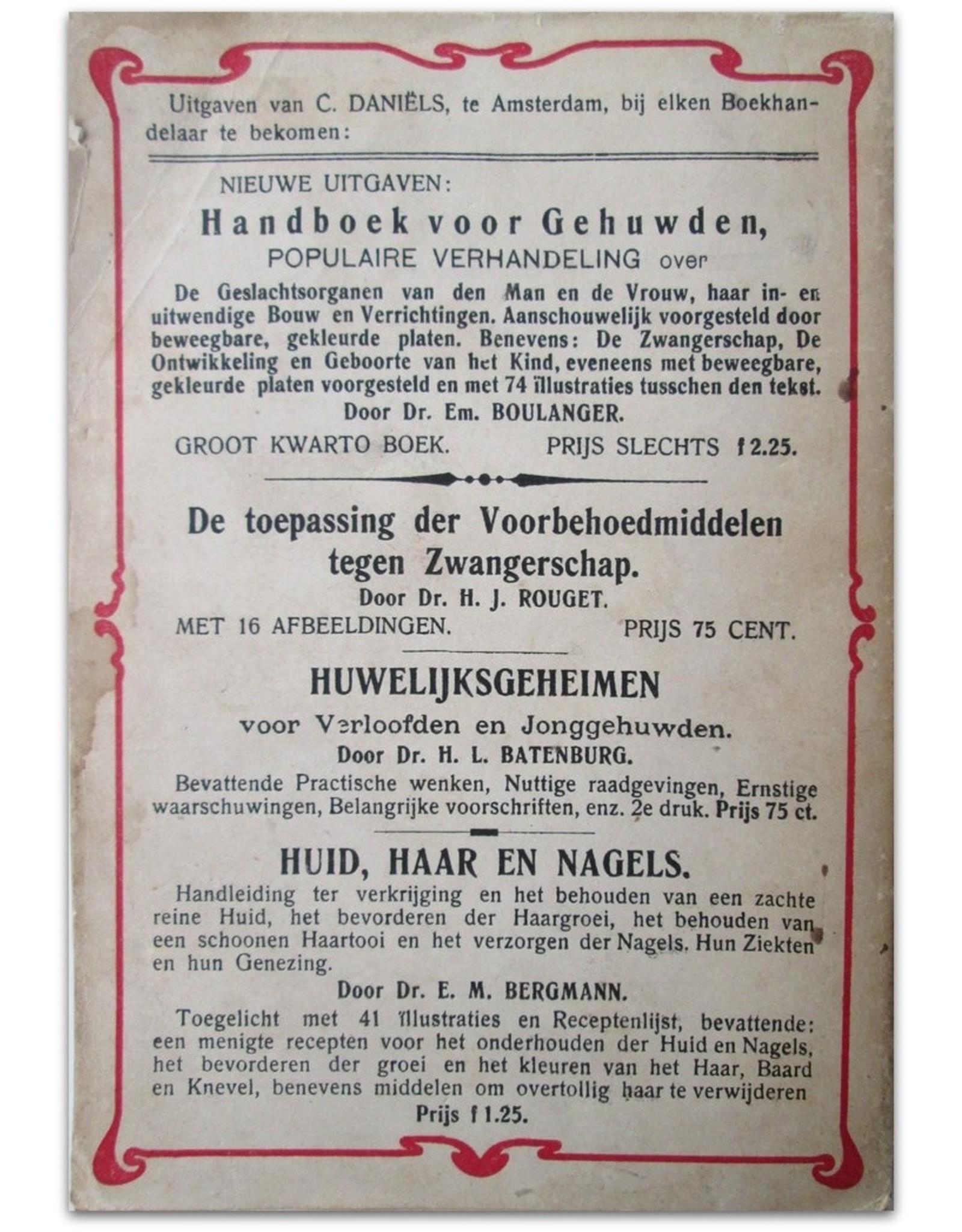 Dr. Wilhelm Fischer - De Prostitutie. Haar geschiedenis, haar betrekking tot de misdaad, alsmede tot de ontaarding van het moderne geslachtsleven