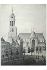 J.G. van Ginkel - Gezigt op de Groote Markt te Arnhem