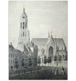 J.G. van Ginkel - Groote Markt te Arnhem - 1855
