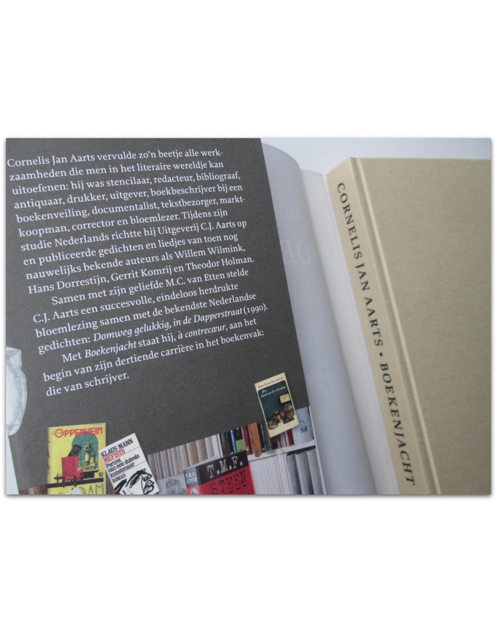 Cornelis Jan Aarts - Boekenjacht. Verhalen uit de boekenwereld