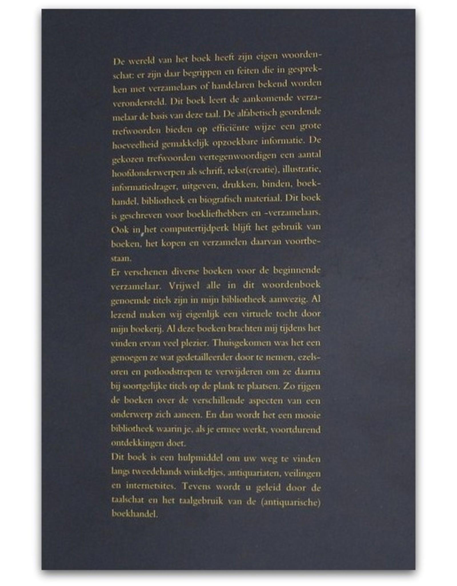 J. Ayolt Brongers - Boekwoorden woordenboek. Handleiding voor boekensneupers