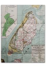Wandelkaart van het eiland Texel. Tweede verbeterde uitgave