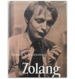 Simon Vinkenoog - Zolang te water. Een alibi - 1954