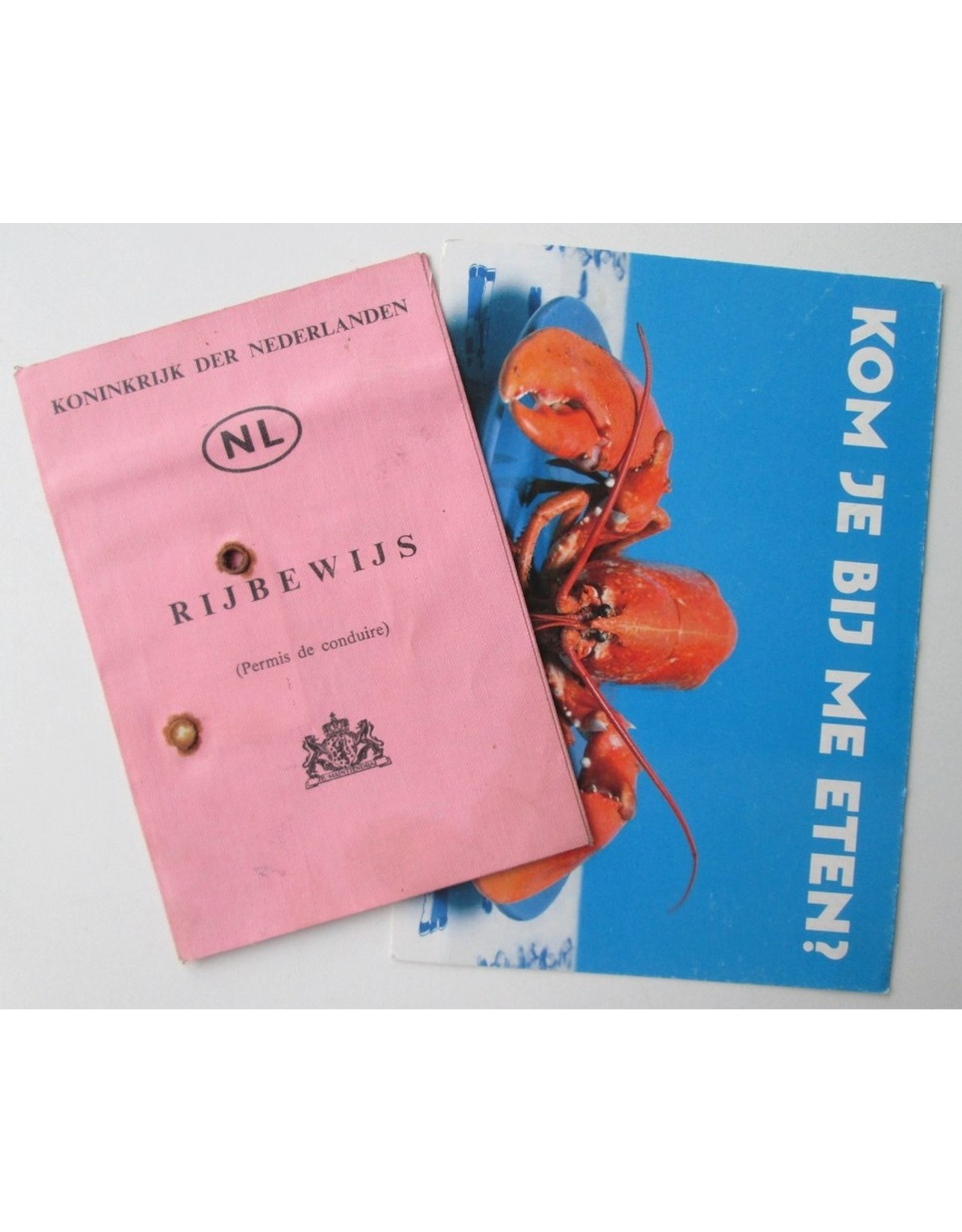 Herman Koch - Rijbewijs A (Permis de conduire) NL: Koninkrijk der Nederlanden