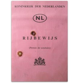 Herman Koch - Rijbewijs A (Permis de conduire) - 1977