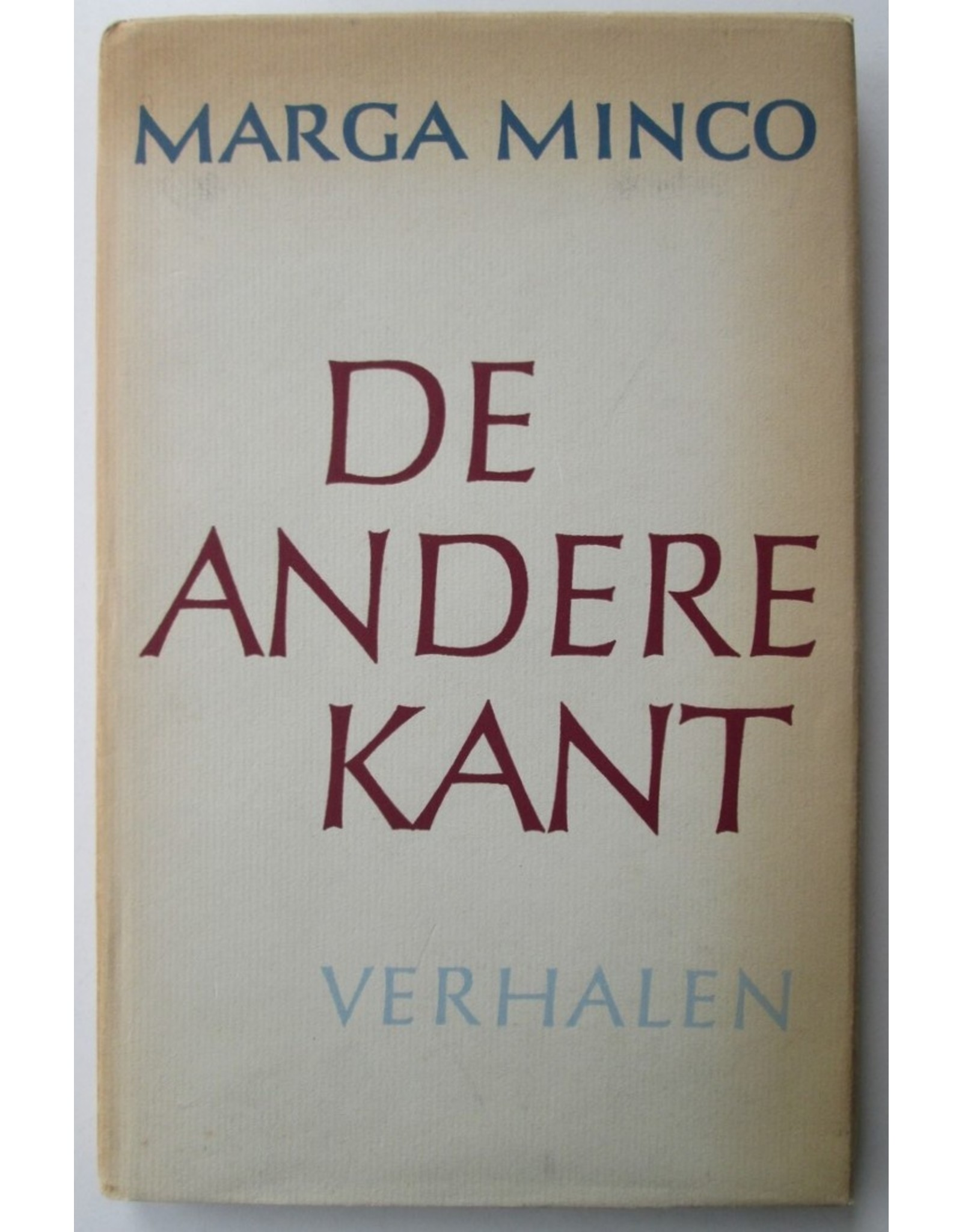 Marga Minco - De andere kant. Verhalen