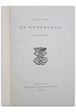 J.C. Bloem - De Nederlaag. Gedichten
