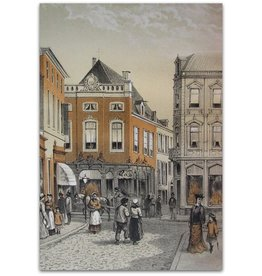 M.A. Sipman - Arnhem: stadsgezichten - 1880