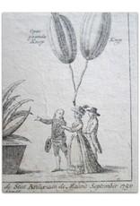 De Aloë Afericana Major te zien buiten de Stat Arnhem in de Maand September 1790