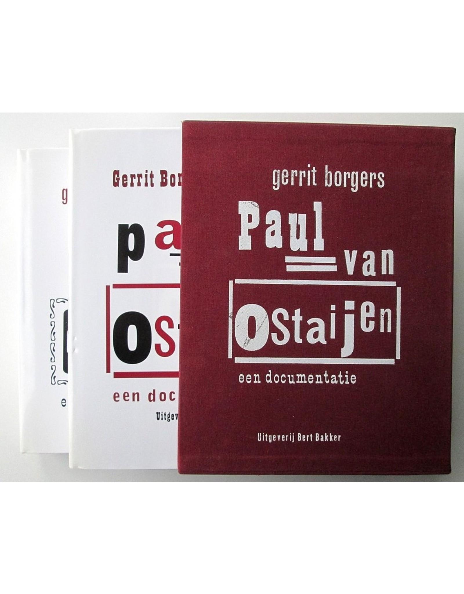 Gerrit Borgers - Paul van Ostaijen: Een documentatie 1 + 2
