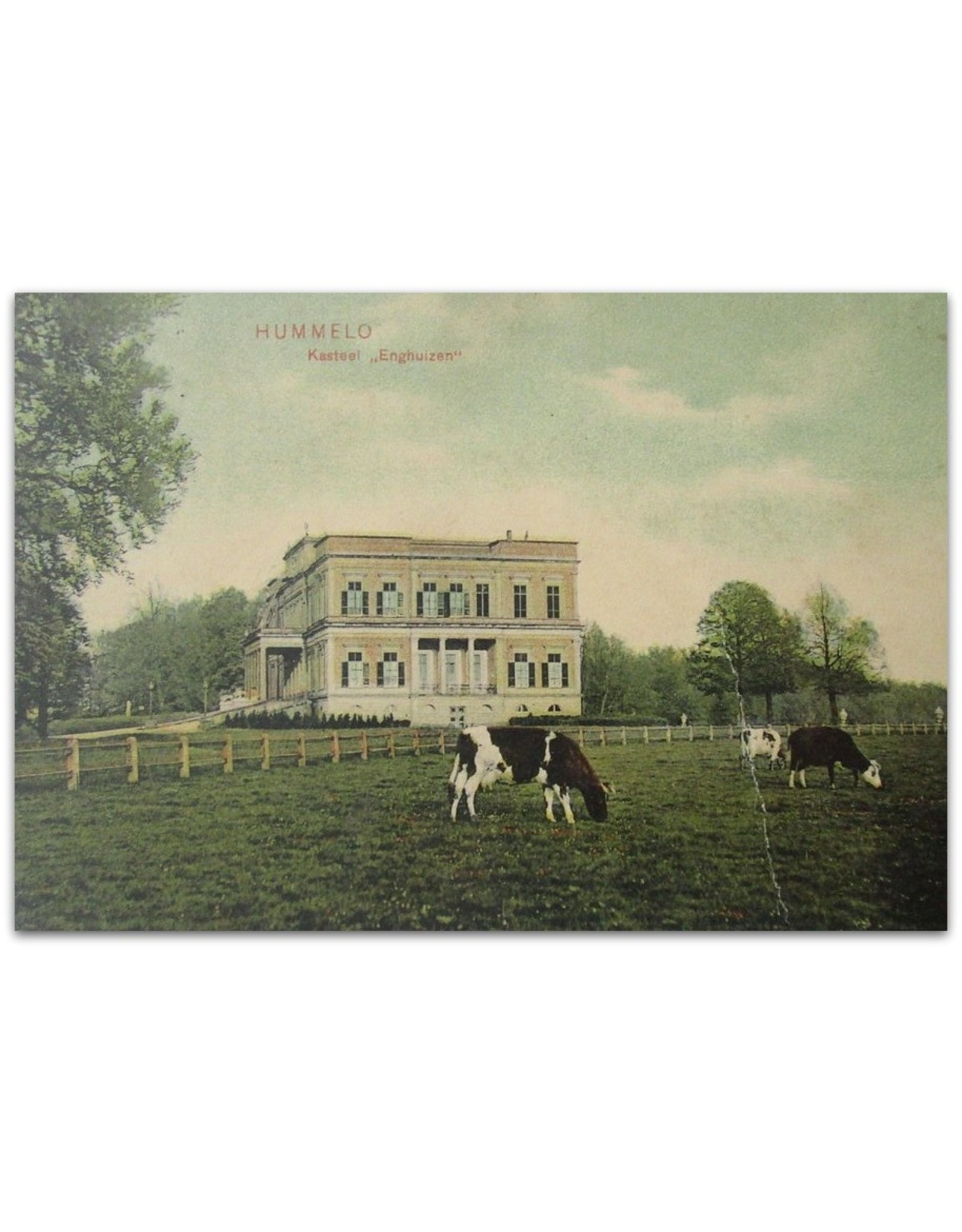 [Carte Postale] - Kasteel & Jagershuis Enghuyzen bij Hummelo