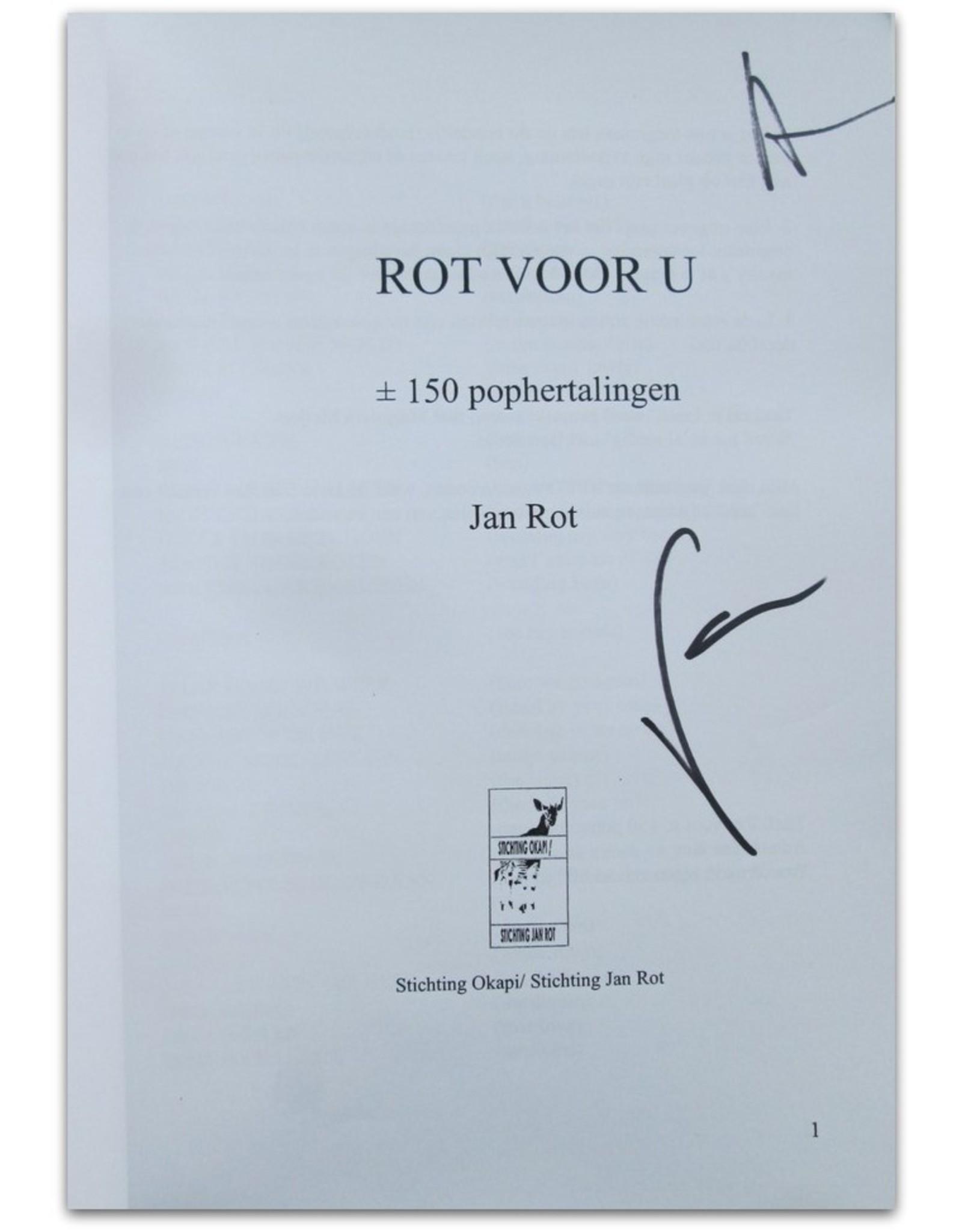 Jan Rot - Rot voor U: ± 150 popvertalingen