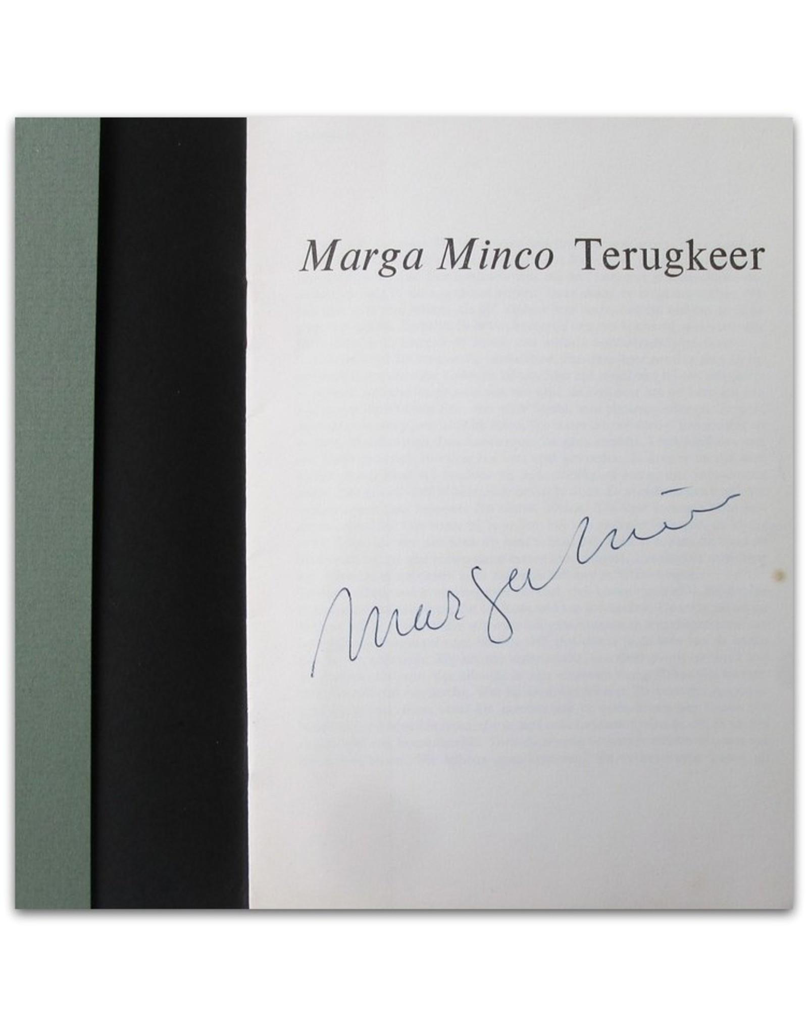 Marga Minco - Terugkeer
