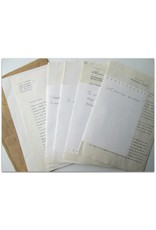 V.V. Nalimov - Dear Mr. Jacob, [Original letter in typescript + valuable extras]
