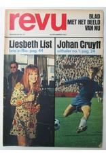 REVU Blad met het beeld van nu Nr. 52 - December 1967 [with Johan Cruyff poster]